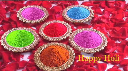 Wish you a happy & colordul Holi